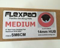 150 milimeter PowerPad sliberondel / slibepads i hårdhed medium fra Gordner.dk
