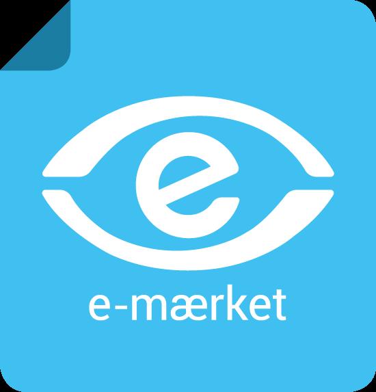 Gordner.dk er e-mærket certificeret.