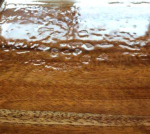 luftbobler og appelsinhud i epoxy