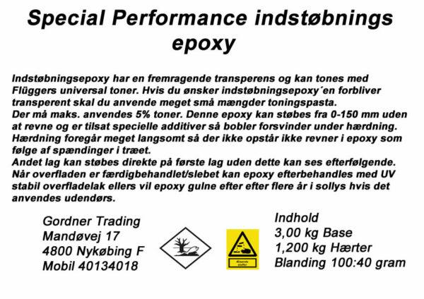 Epoxy behandling