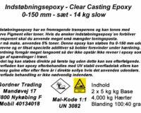 Epoxy til håndlaminering og indstøbning